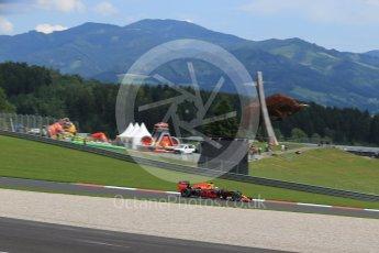 World © Octane Photographic Ltd. Red Bull Racing RB12 – Daniel Ricciardo. Friday 1st July 2016, F1 Austrian GP Practice 2, Red Bull Ring, Spielberg, Austria. Digital Ref : 1600LB1D5550