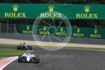 World © Octane Photographic Ltd. Williams Martini Racing, Williams Mercedes FW38 – Valtteri Bottas and Sahara Force India VJM09 - Nico Hulkenberg. Friday 1st July 2016, F1 Austrian GP Practice 2, Red Bull Ring, Spielberg, Austria. Digital Ref : 1600LB1D6352