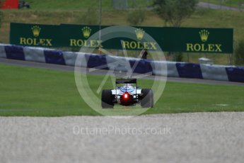 World © Octane Photographic Ltd. Williams Martini Racing, Williams Mercedes FW38 – Felipe Massa. Friday 1st July 2016, F1 Austrian GP Practice 2, Red Bull Ring, Spielberg, Austria. Digital Ref : 1600LB1D6659
