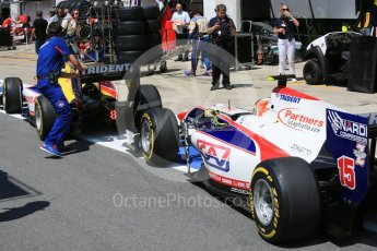 World © Octane Photographic Ltd. Trident - GP2/11 –Philo Paz Armand and Luca Ghiotto. Friday 1st July 2016, GP2 Practice, Red Bull Ring, Spielberg, Austria. Digital Ref : 1599CB5D2901