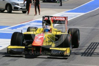 World © Octane Photographic Ltd. Pertamina Campos Racing - GP2/11 – Mitch Evans. Friday 1st July 2016, GP2 Practice, Red Bull Ring, Spielberg, Austria. Digital Ref : 1599CB5D2945