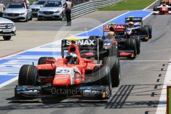 World © Octane Photographic Ltd. Arden International - GP2/11 – Jimmy Eriksson. Friday 1st July 2016, GP2 Practice, Red Bull Ring, Spielberg, Austria. Digital Ref : 1599CB5D2953