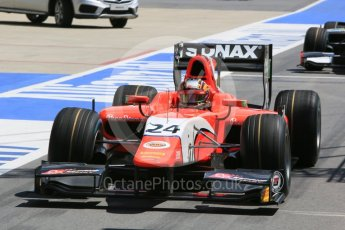 World © Octane Photographic Ltd. Arden International - GP2/11 – Nabil Jeffri. Friday 1st July 2016, GP2 Practice, Red Bull Ring, Spielberg, Austria. Digital Ref : 1599CB5D2965