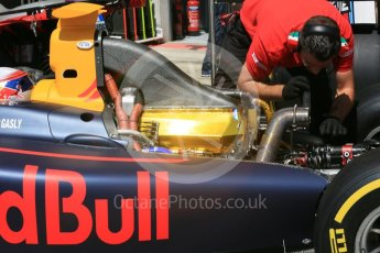 World © Octane Photographic Ltd. Prema Racing - GP2/11 – Pierre Gasly's engine receives attention Friday 1st July 2016, GP2 Practice, Red Bull Ring, Spielberg, Austria. Digital Ref : 1599CB5D2981
