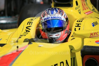 World © Octane Photographic Ltd. Pertamina Campos Racing - GP2/11 – Mitch Evans. Friday 1st July 2016, GP2 Practice, Red Bull Ring, Spielberg, Austria. Digital Ref : 1599CB5D3006