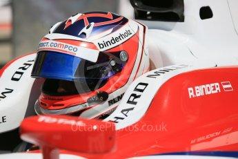 World © Octane Photographic Ltd. ART Grand Prix - GP2/11 – Rene Binder. Friday 1st July 2016, GP2 Practice, Red Bull Ring, Spielberg, Austria. Digital Ref : 1599CB5D3012