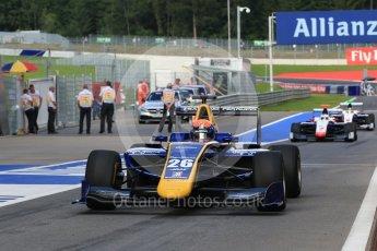 World © Octane Photographic Ltd. DAMS - GP3/16 – Santino Ferrucci. Friday 1st July 2016, GP3 Practice, Red Bull Ring, Spielberg, Austria. Digital Ref : 1603LB1D5699