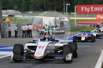 World © Octane Photographic Ltd. Koiranen GP - GP3/16 – Ralph Boschung. Friday 1st July 2016, GP3 Practice, Red Bull Ring, Spielberg, Austria. Digital Ref : 1603LB1D5712