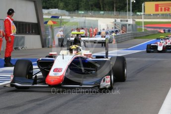 World © Octane Photographic Ltd. Trident – GP3/16 – Artur Janosz. Friday 1st July 2016, GP3 Practice, Red Bull Ring, Spielberg, Austria. Digital Ref : 1603LB1D5720