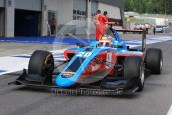 World © Octane Photographic Ltd. Jenzer Motorsport - GP3/16 – Oscar Tunjo. Friday 1st July 2016, GP3 Practice, Red Bull Ring, Spielberg, Austria. Digital Ref : 1603LB1D5771
