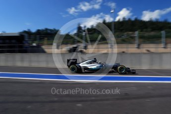 World © Octane Photographic Ltd. Mercedes AMG Petronas W07 Hybrid – Lewis Hamilton. Saturday 27th August 2016, F1 Belgian GP Practice 3, Spa-Francorchamps, Belgium. Digital Ref : 1687LB2D4009