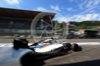 World © Octane Photographic Ltd. Williams Martini Racing, Williams Mercedes FW38 – Valtteri Bottas. Saturday 27th August 2016, F1 Belgian GP Practice 3, Spa-Francorchamps, Belgium. Digital Ref : 1687LB2D4213