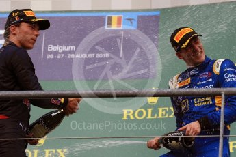 World © Octane Photographic Ltd. Prema Racing - GP2/11 – Pierre Gasly and DAMS - GP2/11 – Alex Lynn. Saturday 27th August 2016, GP2 Race 1, Spa-Francorchamps, Belgium. Digital Ref : 1682LB1D0887