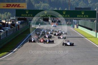 World © Octane Photographic Ltd. Koiranen GP - GP3/16 – Matevos Isaakyan. Sunday 28th August 2016, GP3 Race 2, Spa-Francorchamps, Belgium. Digital Ref : 1689LB1D1115