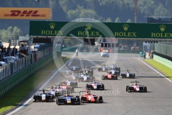 World © Octane Photographic Ltd. Koiranen GP - GP3/16 – Matevos Isaakyan. Sunday 28th August 2016, GP3 Race 2, Spa-Francorchamps, Belgium. Digital Ref : 1689LB1D1121