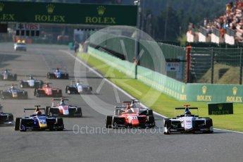 World © Octane Photographic Ltd. Koiranen GP - GP3/16 – Matevos Isaakyan. Sunday 28th August 2016, GP3 Race 2, Spa-Francorchamps, Belgium. Digital Ref : 1689LB1D1127