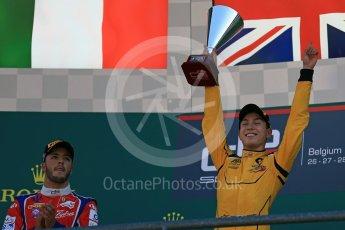World © Octane Photographic Ltd. Arden International – GP3/16 – Jack Aitken. Sunday 28th August 2016, GP3 Race 2, Spa-Francorchamps, Belgium. Digital Ref : 1689LB2D4349