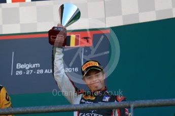 World © Octane Photographic Ltd. DAMS - GP3/16 – Santino Ferrucci. Sunday 28th August 2016, GP3 Race 2, Spa-Francorchamps, Belgium. Digital Ref : 1689LB2D4373