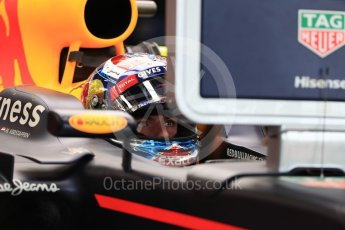 World © Octane Photographic Ltd. Red Bull Racing RB12 – Max Verstappen. Saturday 9th July 2016, F1 British GP Practice 3, Silverstone, UK. Digital Ref : 1625LB1D3397