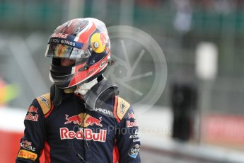 World © Octane Photographic Ltd. Red Bull Racing RB12 – Max Verstappen. Saturday 9th July 2016, F1 British GP Practice 3, Silverstone, UK. Digital Ref : 1625LB1D3524