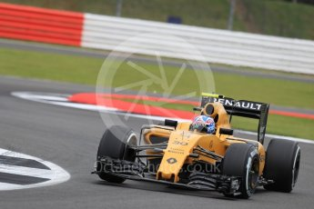 World © Octane Photographic Ltd. Renault Sport F1 Team RS16 – Jolyon Palmer. Friday 8th July 2016, F1 British GP Practice 1, Silverstone, UK. Digital Ref : 1619LB1D1216