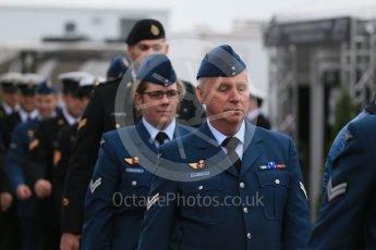 World © Octane Photographic Ltd. Royal Canadian Air Force (RCAF). Sunday 12th June 2016, F1 Canadian GP Drivers' parade, Circuit Gilles Villeneuve, Montreal, Canada. Digital Ref :1591LB1D2893