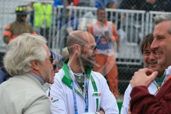 Gianluca Di TondoWorld © Octane Photographic Ltd. Heineken's Global Head of Media & Digital Marketing Gianluca Di Tondo. Sunday 12th June 2016, F1 Canadian GP Parc Ferme, Circuit Gilles Villeneuve, Montreal, Canada. Digital Ref :1591LB1D3342