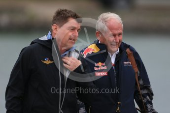 World © Octane Photographic Ltd. Red Bull Racing - Dr.Helmut Marco. Sunday 12th June 2016, F1 Canadian GP Paddock, Circuit Gilles Villeneuve, Montreal, Canada. Digital Ref :1590LB1D2213
