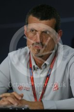 World © Octane Photographic Ltd. F1 Canadian GP FIA Personnel Press Conference, Circuit Gilles Villeneuve, Montreal, Canada. Friday 10th June 2016. Guenther Steiner – Team Principal Haas F1. Digital Ref :1585LB1D0738