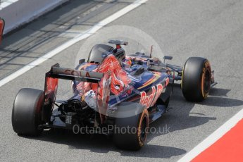 World © Octane Photographic Ltd. Scuderia Toro Rosso STR11 – Pierre Gasly. Tuesday 17th May 2016, F1 Spanish In-season testing, Circuit de Barcelona Catalunya, Spain. Digital Ref : 1555CB1D2702