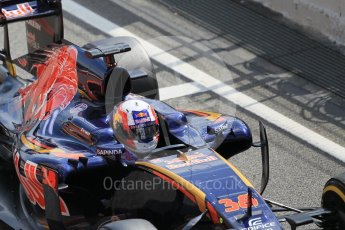 World © Octane Photographic Ltd. Scuderia Toro Rosso STR11 – Pierre Gasly. Tuesday 17th May 2016, F1 Spanish In-season testing, Circuit de Barcelona Catalunya, Spain. Digital Ref : 1555CB1D2715