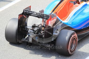 World © Octane Photographic Ltd. Manor Racing MRT05 - Pascal Wehrlein. Tuesday 17th May 2016, F1 Spanish In-season testing, Circuit de Barcelona Catalunya, Spain. Digital Ref : 1555CB1D2776