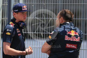 World © Octane Photographic Ltd. Red Bull Racing - Max Verstappen. Tuesday 17th May 2016, F1 Spanish In-season testing, Circuit de Barcelona Catalunya, Spain. Digital Ref : 1555LB1D9507