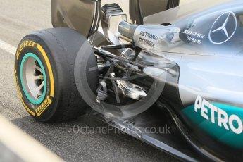 World © Octane Photographic Ltd. Mercedes AMG Petronas W07 Hybrid – Pascal Wehrlein. Wednesday 18th May 2016, F1 Spanish In-season testing, Circuit de Barcelona Catalunya, Spain. Digital Ref : 1556CB1D3593