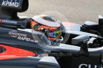 World © Octane Photographic Ltd. McLaren Honda MP4-31 – Stoffel Vandoorne. Wednesday 18th May 2016, F1 Spanish GP In-season testing, Circuit de Barcelona Catalunya, Spain. Digital Ref : 1556CB1D3645