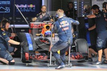 World © Octane Photographic Ltd. Red Bull Racing RB12 – Max Verstappen. Wednesday 18th May 2016, F1 Spanish GP In-season testing, Circuit de Barcelona Catalunya, Spain. Digital Ref : 1556CB1D3717