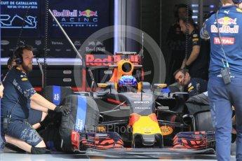 World © Octane Photographic Ltd. Red Bull Racing RB12 – Max Verstappen. Wednesday 18th May 2016, F1 Spanish GP In-season testing, Circuit de Barcelona Catalunya, Spain. Digital Ref : 1556CB1D3722
