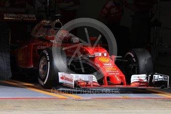 World © Octane Photographic Ltd. Scuderia Ferrari SF16-H – Antonio Fuoco. Wednesday 18th May 2016, F1 Spanish GP In-season testing, Circuit de Barcelona Catalunya, Spain. Digital Ref : 1556CB1D3744