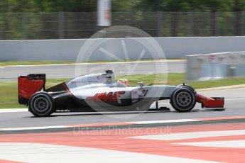 World © Octane Photographic Ltd. Haas F1 Team VF-16 - Esteban Gutierrez. Wednesday 18th May 2016, F1 Spanish GP In-season testing, Circuit de Barcelona Catalunya, Spain. Digital Ref : 1556CB1D4110 1556CB1D4110