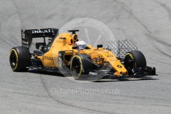 World © Octane Photographic Ltd. Renault Sport F1 Team RS16 – Kevin Magnussen. Wednesday 18th May 2016, F1 Spanish GP In-season testing, Circuit de Barcelona Catalunya, Spain. Digital Ref : 1556CB1D4134