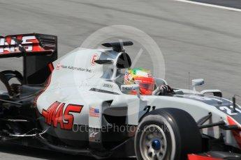 World © Octane Photographic Ltd. Haas F1 Team VF-16 - Esteban Gutierrez. Wednesday 18th May 2016, F1 Spanish GP In-season testing, Circuit de Barcelona Catalunya, Spain. Digital Ref : 1556CB1D4155