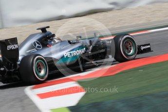 World © Octane Photographic Ltd. Mercedes AMG Petronas W07 Hybrid – Pascal Wehrlein. Wednesday 18th May 2016, F1 Spanish In-season testing, Circuit de Barcelona Catalunya, Spain. Digital Ref : 1556CB1D4186