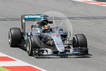 World © Octane Photographic Ltd. Mercedes AMG Petronas W07 Hybrid – Pascal Wehrlein. Wednesday 18th May 2016, F1 Spanish In-season testing, Circuit de Barcelona Catalunya, Spain. Digital Ref : 1556CB1D4236