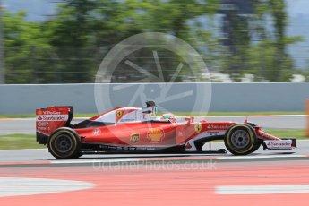 World © Octane Photographic Ltd. Scuderia Ferrari SF16-H – Antonio Fuoco. Wednesday 18th May 2016, F1 Spanish GP In-season testing, Circuit de Barcelona Catalunya, Spain. Digital Ref : 1556CB1D4245