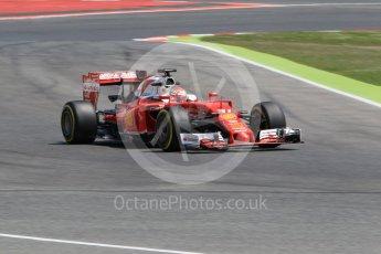 World © Octane Photographic Ltd. Scuderia Ferrari SF16-H – Antonio Fuoco. Wednesday 18th May 2016, F1 Spanish GP In-season testing, Circuit de Barcelona Catalunya, Spain. Digital Ref : 1556CB1D4321