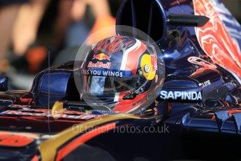 World © Octane Photographic Ltd. Scuderia Toro Rosso STR11 – Daniil Kvyat. Wednesday 18th May 2016, F1 Spanish GP In-season testing, Circuit de Barcelona Catalunya, Spain. Digital Ref : 1556CB7D9117