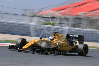 World © Octane Photographic Ltd. Renault Sport F1 Team RS16 – Kevin Magnussen. Wednesday 18th May 2016, F1 Spanish GP In-season testing, Circuit de Barcelona Catalunya, Spain. Digital Ref :