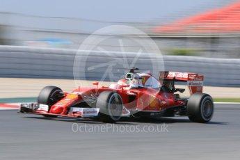 World © Octane Photographic Ltd. Scuderia Ferrari SF16-H – Antonio Fuoco. Wednesday 18th May 2016, F1 Spanish GP In-season testing, Circuit de Barcelona Catalunya, Spain. Digital Ref : 1556CB7D9245