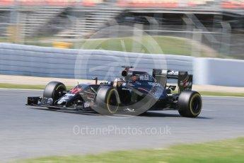 World © Octane Photographic Ltd. McLaren Honda MP4-31 – Stoffel Vandoorne. Wednesday 18th May 2016, F1 Spanish GP In-season testing, Circuit de Barcelona Catalunya, Spain. Digital Ref : 1556CB7D9265