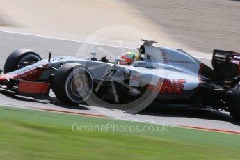 World © Octane Photographic Ltd. Haas F1 Team VF-16 - Esteban Gutierrez. Wednesday 18th May 2016, F1 Spanish GP In-season testing, Circuit de Barcelona Catalunya, Spain. Digital Ref : 1556CB7D9301